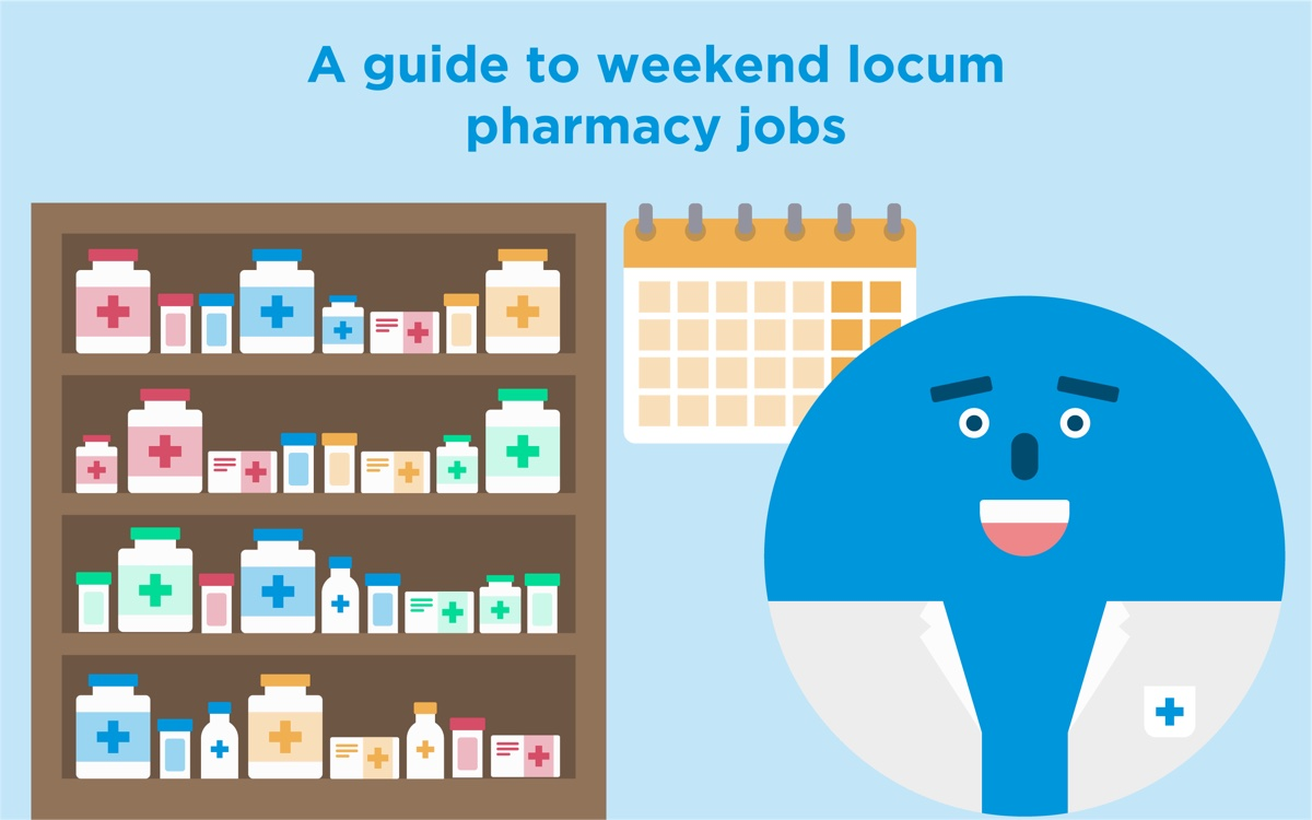 Weekend shifts as a locum pharmacist