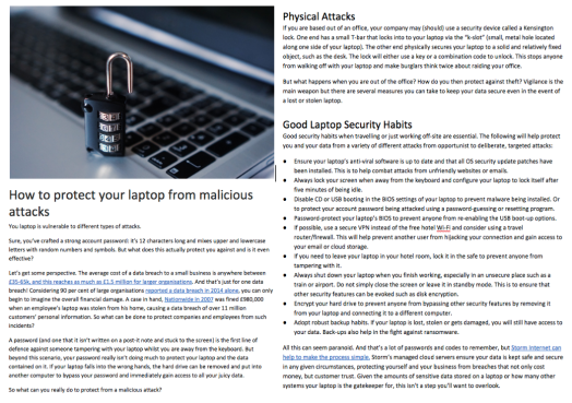 Laptop Security by Nicola Hasted Health & Tech Writer